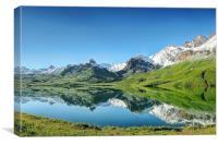Lake Melchsee, Canvas Print