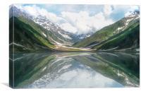 Lake Saif ul Maluk, Canvas Print