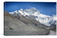 Everest, Canvas Print
