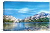 Lake Tenaya, Canvas Print