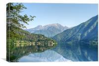 Lago Di Legro, Canvas Print