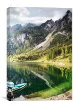 Gosausee Lake, Canvas Print