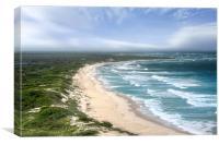Cozumel Beach, Canvas Print