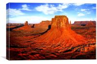 Monument Valley, Canvas Print