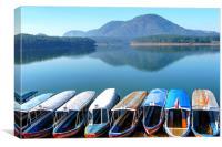 Tuyen Lam Lake, Canvas Print