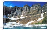 Iceberg Lake, Canvas Print