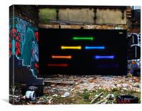 Urban Graffiti, Canvas Print