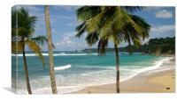 Playa Grande, Canvas Print