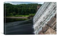 Howden Dam, Canvas Print
