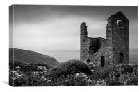 Cornish Tin Mine, Canvas Print