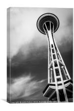 Seattle Space Needle, Canvas Print