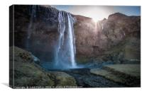 Icelandic beauty, Canvas Print
