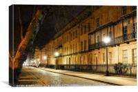 Queen Square at night, Canvas Print