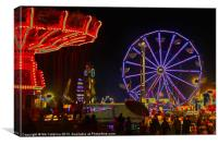 A Night At The Fair, Canvas Print
