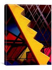 Zig Zag, Canvas Print