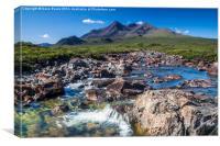 Cuillin Ridge Isle Of Skye, Canvas Print