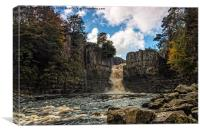High Force Waterfall, Canvas Print