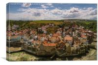 Staithes, Canvas Print