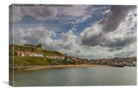 Whitby Big Sky, Canvas Print