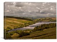 Brecon Beacons landscape, Canvas Print