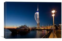 Portsmouths Spinnaker Tower 3, Canvas Print