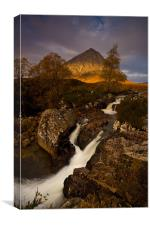 Buachaille Etive Mor in Autumn, Canvas Print