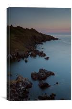Start Point Lighthouse Sunset 2, Canvas Print