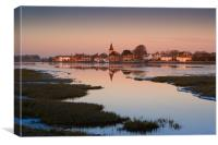Frosty Bosham Dawn, Canvas Print