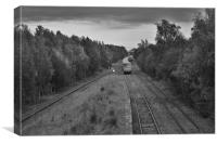 Calvert Railway, Canvas Print