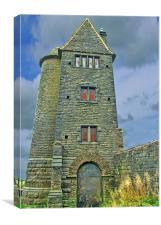 The Pidgeon Tower Rivington, Canvas Print