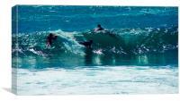 SURFS UP, Canvas Print