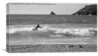 SURF ACTION, Canvas Print