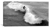 SURFS UP                , Canvas Print