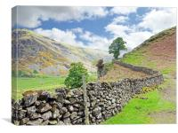 St. Johns in the Vale walk                     , Canvas Print
