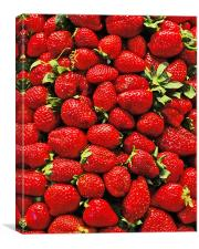 Strawberry's, Canvas Print