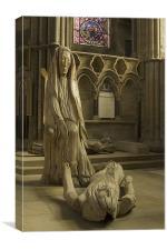 Pieta, Canvas Print