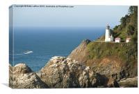 Hecita Head Lighthouse, Canvas Print