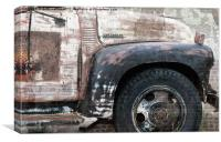 Old Chevrolet Truck, Canvas Print