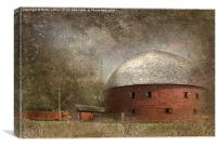 The Round Barn, Canvas Print