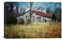 Old Barn, Canvas Print