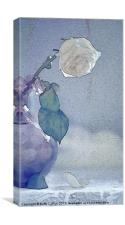 Moody Blue, Canvas Print