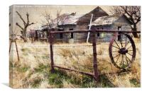 Homestead, Canvas Print
