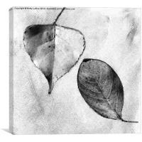 Dancing Leaves, Canvas Print