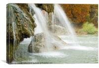 Turner Falls, Canvas Print
