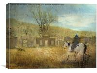 Ghost Town #1, Canvas Print