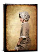 Pioneer Girl, Canvas Print