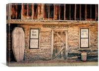 Old West General Store, Canvas Print
