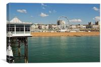 Brighton Seafront, Canvas Print
