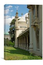 Brighton Royal Pavilion, Canvas Print