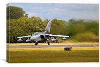 Tornado with Jet Wash, Canvas Print